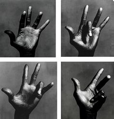 tranceend: Irving Penn. The left hand of Miles...