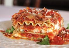 A fun and tasty way to make lasagna from scratch...