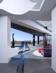 Single family property designed by Urban Design Associates located in Desert Mountain, Arizona