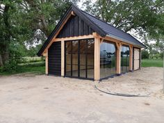 Although old in thought, the particular pergola is encountering a current renaissance these kinds of Backyard Pavilion, Backyard Studio, Backyard Sheds, Backyard Patio, Patio Design, House Design, Garden Lodge, Carport Designs, Tiny House Cabin
