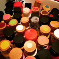"""My paints...few material things bring me more joy. #joy #rethinkchurch #lent #photochallenge #UMC"""