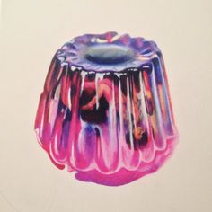 Jello drawing by Artillery artist Emily Margaret (@_eegahh)