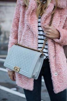 Fun jacket and Chanel