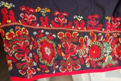 Folk Costume, Costumes, Folk Embroidery, Folklore, Norway, Scandinavian, Traditional, Design, Art