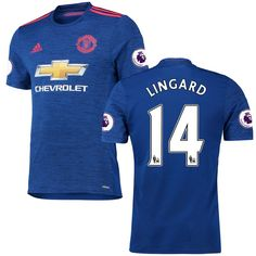 Jesse Lingard Manchester United adidas 2016/17 Away Authentic Jersey - Royal