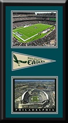 Philadelphia Eagles Lincoln Financial Field Aerial View Large Stadium Poster With Team Photo-Framed With Team Color Double Matting-Framed Awesome & Beautiful-Must For A Championship Team Fan! Art and More, Davenport, IA http://www.amazon.com/dp/B00NXITM50/ref=cm_sw_r_pi_dp_9.4pub1HJV5DE