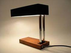 1960s Kaiser 6878 modernist table lamp