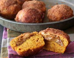 25 Tasty Pumpkin Muffins for Breakfast& or Dessert ;) via Brit + Co