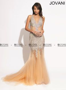 Halter Beaded Tulle Long Gown Ricarda 89650 : DSTORE USA, Miami Premiere Eveningwear Boutique