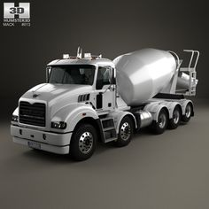 model of Mack Metro-Liner Concrete Agitator Truck 2007 Heavy Duty Trucks, Heavy Truck, Cement Mixer Truck, Mack Trucks, Emergency Vehicles, Photoshop Design, Classic Trucks, Cool Trucks, Plastic Models