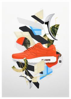 Nike Air Max Birthday - Collage by Takeshi