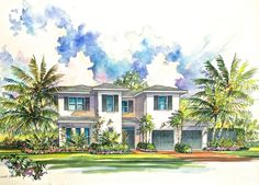 Courtyard Home in Delray Beach, Listed for Sale by FPA Enterprises at $1,290,000