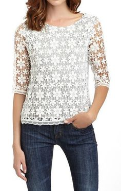 Spider Lace Blouse