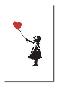 Banksy -- By far my favorite piece by him.