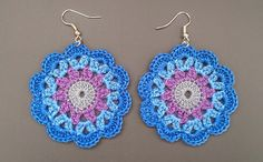 mandala em crochet - Pesquisa Google