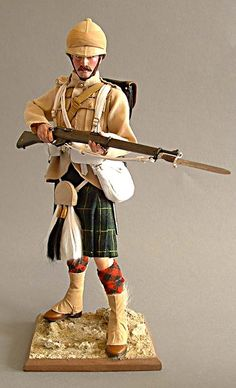 Private, Gordon Highlanders. North West Frontier. 1895. - OSW: One Sixth Warrior Forum