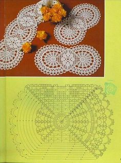 Pattern crochet circle pattern for home