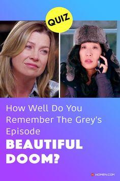 "This trivia quiz will test your knowledge on how well you remember Craig Thomas's last episode on Grey's Anatomy, ""Beautiful Doom"". #BeautifulDoom #greys #GreysBeautifulDoom #greys #GreysAnatomy #greysquiz #greysnostalgia #greysAnatomyTrivia #mcdreamy #greystragedies #greysdeath #greysanatomyscene"