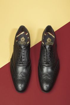 Brogues fit for royalty.
