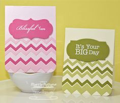 Chevron heaven on a card!  Love these new dienamics chevron dies from MFT stamps!