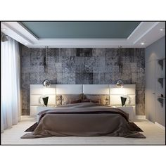 The most beautiful living room decoration ideas – Fashion, Home decorating Bedroom Layouts, Bedroom Sets, Bedroom Decor, Bedrooms, Bedroom Furniture, Master Bedroom, Bedroom False Ceiling Design, Bedroom Ceiling, False Ceiling Ideas
