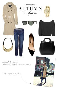 I'm ready for fall.  I want a classic trench, black heels etc.
