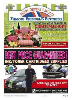 Value Packed Meat Hampers / Ink/Toner Cartridges