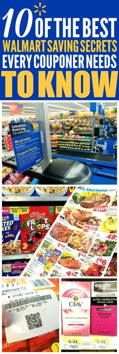 These 10 money saving walmart tips are THE BEST! I'm so glad I found these AWESOME tips! Now I have some great ways to save money at Walmart and save money on groceries! Definitely pinning!