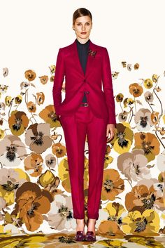 Gucci Pre-Fall 2012 Fashion Show - Julia Frauche