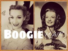 Dale Evans Inspired 1940's Cowboy Hat Hair!  For the Nashville Boogie!