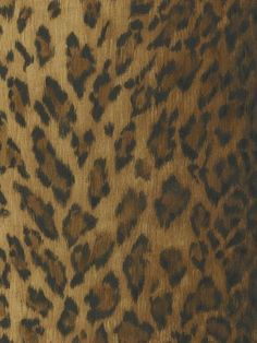 40549434 - Leopard Dark Brown Animal Print from National Geographic Home Collection book - Distributed by Brewster Home Fashions - Free Shipping on Most Orders.