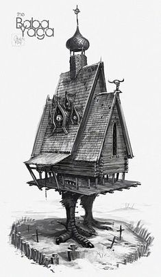 baba yaga house                                                                                                                                                     More