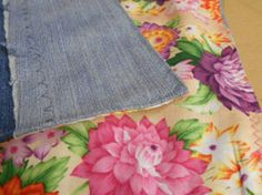 This Doll Blanket from Recycled Jeans will help your little girl's doll get all the beauty sleep she needs. Follow this tutorial to learn how to make a blanket from old jeans that is the perfect size for a doll.