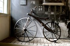 Antique bicycle late 1800s by PIM of SPAIN