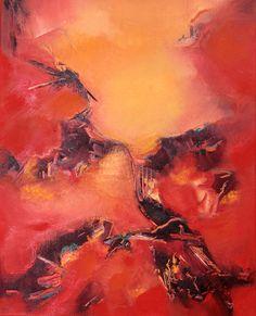 """""""De visiones ocultas"""" - Ana Iacono - Oleo sobre tela - 50 x 40 cm www.esencialismo.com"""