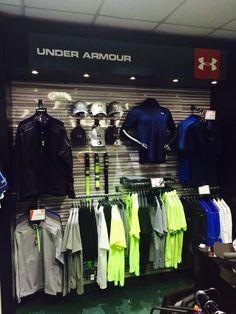 Under Armour Golf store - Google Search Golf Pro Shop, Under Armour Store, Arabian Nights Party, Urban Shop, Spirit Store, Visual Merchandising Displays, Golf Stores, Men Store, Shop Layout