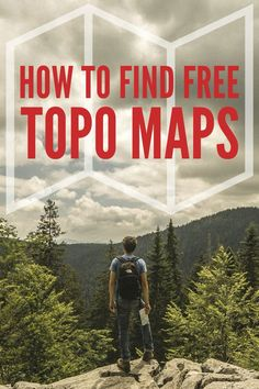 Find free topographical maps for hiking and backpacking
