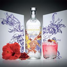 The beauty of the islands in a bottle.    Introducing ABSOLUT HIBISKUS: A floral and fiercely original combination of hibiscus, pomegranate and ABSOLUT VODKA. http://www.absolut.com/us/products/absoluthibiskus/description