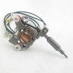 Mini Toy Tattoo Machine With Chain - Black MTM08-BK [MTM08-BK] - $2.67 : Tattoo Supplies and Equipment from Bodyart-Mart