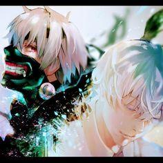 Tokyo Ghoul - Ken Kaneki art ,so cool #TokyoGhoul  #KenKaneki #cosplayclass