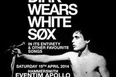 adam ant dirk wears white sox concert - Going!