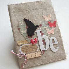 JetPens Blog: JetPens Interview - Maya Road: Scrapbooking. This is so beautiful. I can see it on a canvas.
