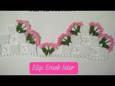 Krokus / Crocus pattern by Lene Tøsti - Louisa Crochet Flowers, Crochet Lace, Youtube Crochet Patterns, Google For Kids, Lace Art, Lace Ring, Creative Embroidery, Bridal Lace, Irish Crochet