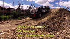 VW Amarok Prueba off-road con 1 tonelada en la caja | Naves 4x4 4x4, Videos, Boxes