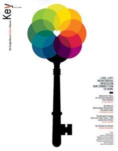 poster, design, colours, key