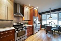 Stanton Rd - Two Tone Modern Kitchen