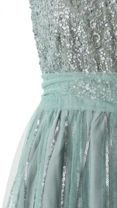 { sequins + tulle }
