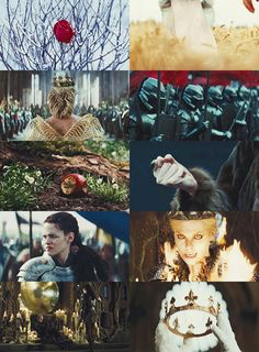 Show White and the Huntsman - I will give this wretched world, the queen it deserves.