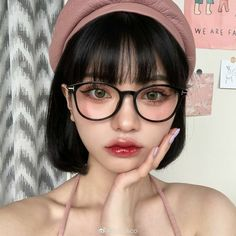 Cute Makeup, Beauty Makeup, Makeup Looks, Aesthetic Women, Aesthetic Girl, Korean Makeup Look, Ulzzang Makeup, Estilo Indie, Ulzzang Korean Girl
