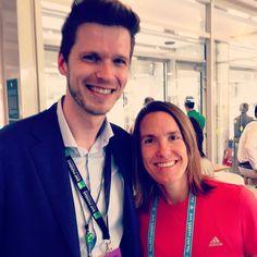 Unexpected meeting with Justine Henin #rg16 #rolandgarros #tennis #tennisplayer #tennislegend #champion #sport by axelcriq